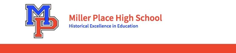 Miller Place High School banner