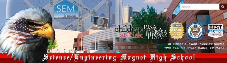 Science/Engineering Magnet High School banner