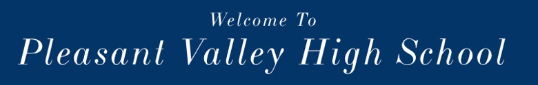 Pleasant Valley High School banner