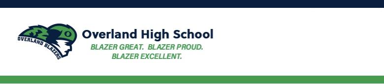 Overland High School banner