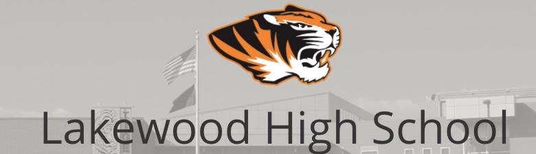 Lakewood High School banner