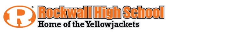 Rockwall High School banner