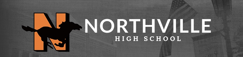 Northville High School banner