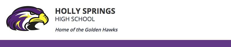 Holly Springs High School banner