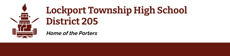 Lockport Township High School banner