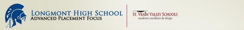 Longmont High School banner
