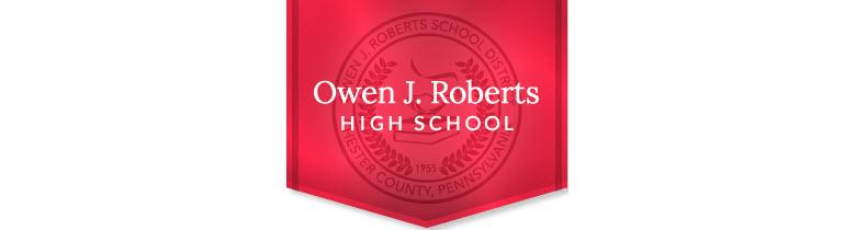 Owen J Roberts High School banner