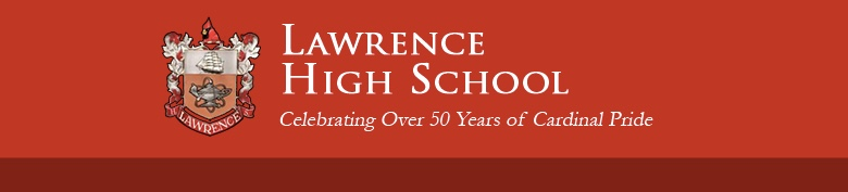 Lawrence High School banner