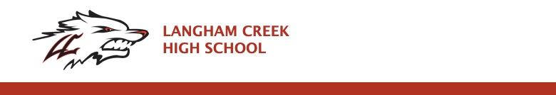 Langham Creek High School banner