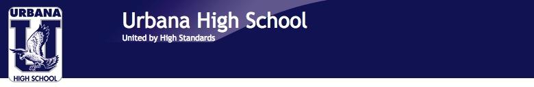 Urbana High School banner