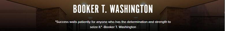 Booker T Washington HS banner