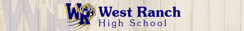 West Ranch High School banner