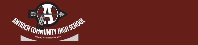 Antioch Community High School banner