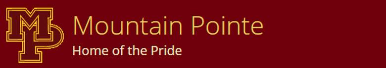 Mountain Pointe High School banner