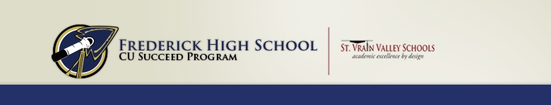 Frederick High School banner