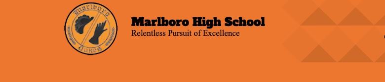 Marlboro Central High School banner