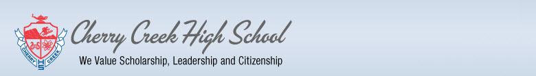 Cherry Creek High School banner