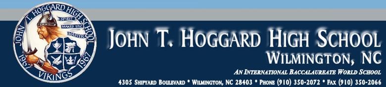 John T Hoggard High School banner