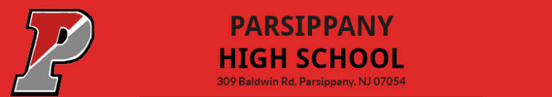 Parsippany High School banner