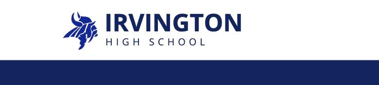 Irvington High School banner