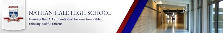 Nathan Hale High School banner