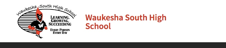 Waukesha South High School banner
