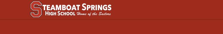Steamboat Springs High School banner