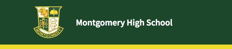 Montgomery High School banner