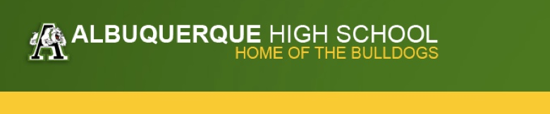 Albuquerque High School banner
