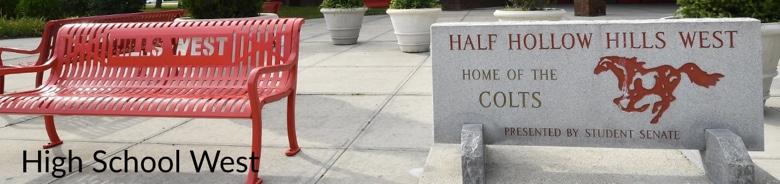 Half Hollow Hills HS West banner