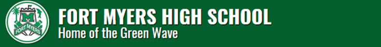 Fort Myers High School banner