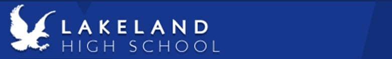 Lakeland High School banner