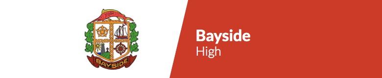 Bayside High School banner