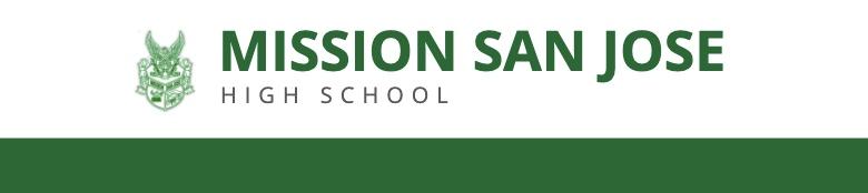 Mission San Jose High School banner