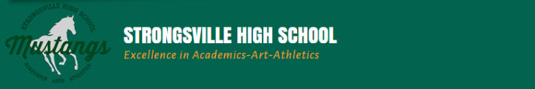 Strongsville High School banner