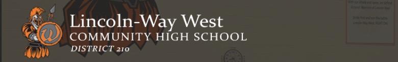 Lincoln-Way West High School banner
