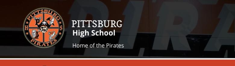 Pittsburg High School banner