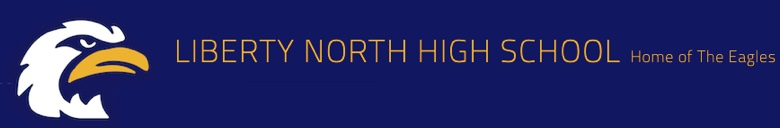 Liberty North High School banner