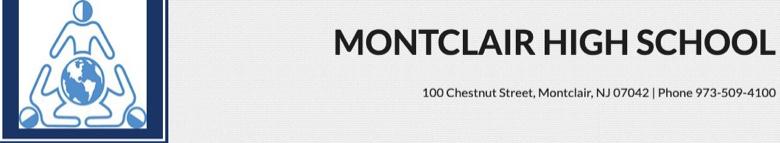 Montclair High School banner