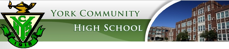 York Community High School banner