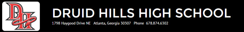 Druid Hills High School banner