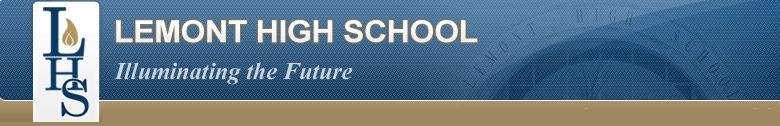 Lemont Township High School banner