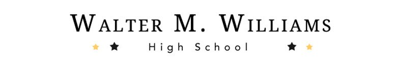Walter M Williams High School banner