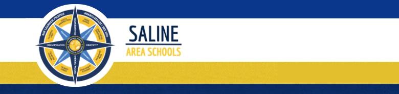 Saline High School banner