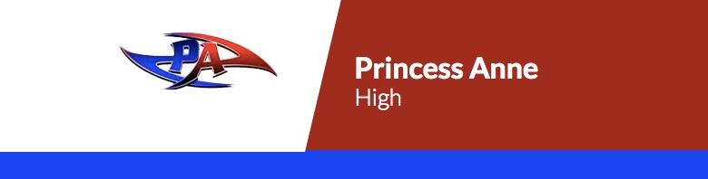 Princess Anne High School banner