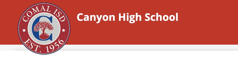 Canyon High School banner