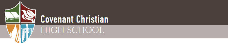 Covenant Christian High School banner