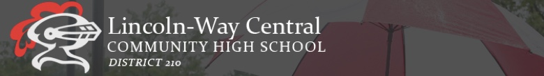 Lincoln-Way Central High School banner