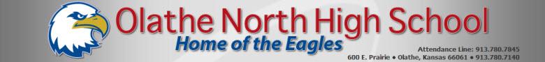 Olathe North High School banner