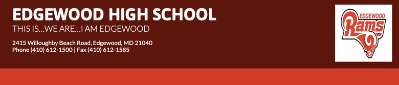 Edgewood High School banner